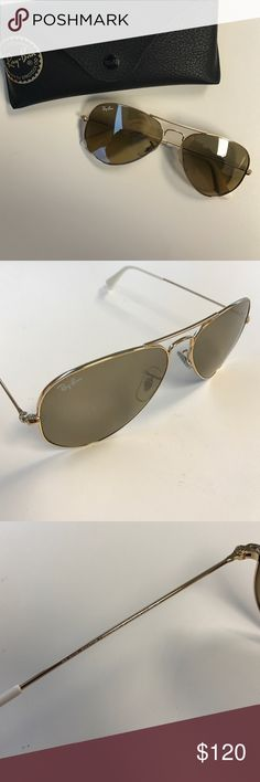 Ray-Ban RB 3025 Aviators Great condition - communications and transactions via Poshmark only- thanks. Ray-Ban Accessories Sunglasses