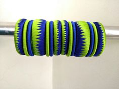 Light Green n Blue silk thread Bangles Silk Thread Bangles Design, Silk Thread Necklace, Silk Bangles, Beaded Necklace Patterns, Thread Jewellery, Textile Jewelry, Jewelry Patterns, Bangles Making, Hand Jewelry