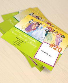 20 disney princess digital invitation by bulustalan on Etsy