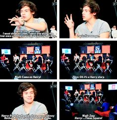 """""""Harry, what is your favorite place in NYC?"""" hahah just another slow, Harry story ..."""