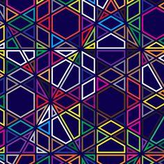 Polygon Prints by Simon Page