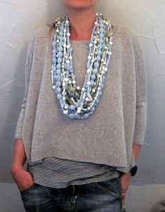 Joji Boxy Pullover Sweater Knitting Pattern