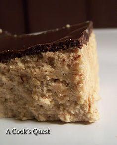 More peanut butter yumminess: No Bake Peanut Butter Bars