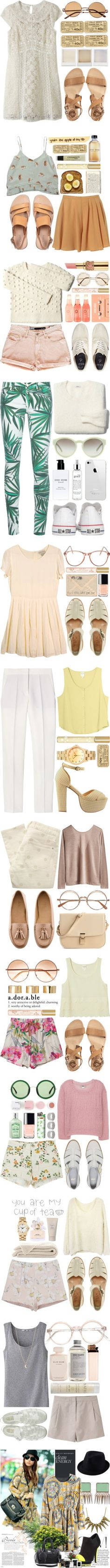 """lol its a collection"" by miast ❤ liked on Polyvore"