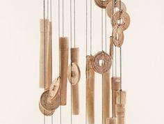 carillons en bambou des objets simples sobres et naturels pinterest carillon bambou et. Black Bedroom Furniture Sets. Home Design Ideas