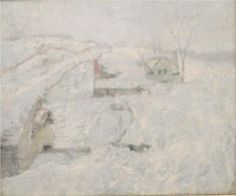 John Henry Twatchman  Greenwich Hills in Winter