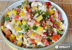 Fetás tonhal saláta   NOSALTY Feta Salat, My Recipes, Food Inspiration, Cobb Salad, Potato Salad, Vegetables, Health, Ethnic Recipes, Dose