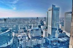 Warsaw skyline, Poland