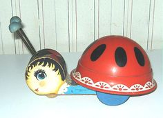 """Fisher Price vintage-Who remembers this from Grandpa Shaffer's??? It was the only """"toy"""" they had!"""