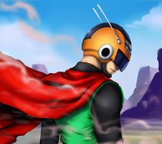 Great saiyaman collab fanart by Crowtex-lv on DeviantArt