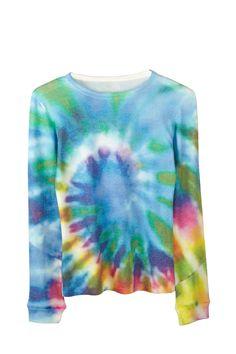 Original Tie Dye Crew Neck Sweater