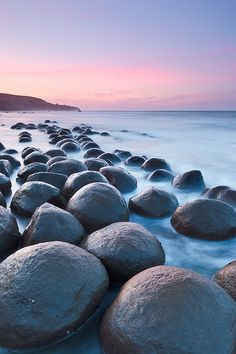 Beach Boulders, California | by Jared Ropelato, via Flickr