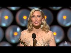 """Daniel Day-Lewis presenting Cate Blanchett with the Oscar® for Best Actress for her performance in """" Blue Jasmine"""" at the Oscars® in Cate Blanchett winning Best Actress for """"Blue Jasmine"""" Woody Allen, Oscars 2014, Daniel Day, Day Lewis, Hollywood, Golden Globe Award, Cate Blanchett, Best Actress, Jasmine"""