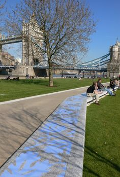 andscape architects Gross Max created Potters Field Park, situated near the Foster + Partners-designed City Hall, on the south bank of London's Thames. Featuring planting by Dutch garden designer Piet Oudolf, it connects with the river