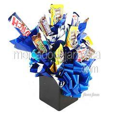 Arreglos de Dulces con Chocolates y Bellos Deseos !| Envia Flores