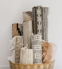 The rugs and Linen patterns with their light but having graphic patterns are truly Scandinavia
