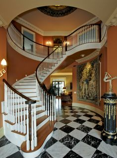 Nashville Home Builder - Bernie Bloemer Custom Homes Spiral Staircase, Home Builders, Custom Homes, Nashville, Stairs, Room, Home Decor, Bedroom, Spiral Stair