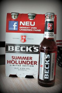 Becks Summer Holunder