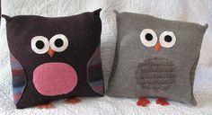 Cute Owl Pillows!