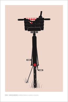 6 Bicycle Posters for Home