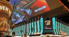 Freemont Street Experince in Las Vegas #TurquoiseCompass
