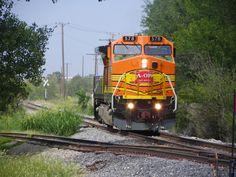 AOK B40-8W 578   Description:    Photo Date:  8/23/2011  Location:  Midwest City, OK   Author:  Kent Held  Categories:    Locomotives:  AOK 578(B40-8W)