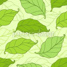 Falling Spring Leaves Repeat Pattern by Natalia Patrashchuk at patterndesigns.com Vector Pattern, Pattern Design, Spring Blossom, Repeating Patterns, Surface Design, Your Design, Leaves, Craft, Floral