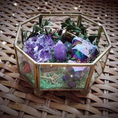Aura Quartz Crystal Necklace - Raw Crystals and Gemstones - Healing Crystal Necklace - Healing Jewelry - Metaphysical Jewelry - Witch - Wild witchin wedding Terrarium succulentes Wiccan, Pagan Altar, Magick, Witchcraft, Prosperity Spell, Titanium Aura Quartz, Witch Bottles, Crystal Garden, Crystal Terrarium Diy