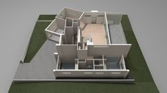 Congo Systems : 3D Floorplan Animated (anim001)