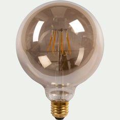 Pendant Lamp, Pendant Lighting, Lampe Decoration, Suspension Metal, Led, Black Metal, Garance, Light Bulb, Ceiling Lights