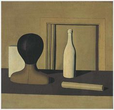 Metaphysical Still Life, 1918 - Giorgio Morandi