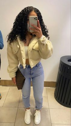 Boujee Outfits, Cute Swag Outfits, Dope Outfits, Retro Outfits, Girly Outfits, Fall Outfits, Fashion Outfits, Winter Looks, Vetement Fashion