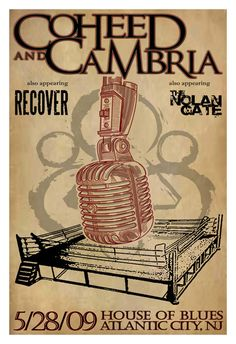 Coheed and Cambria Gig Posters