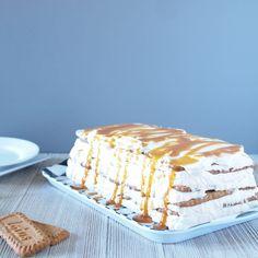 Salted Caramel Biscoff Icebox Cake