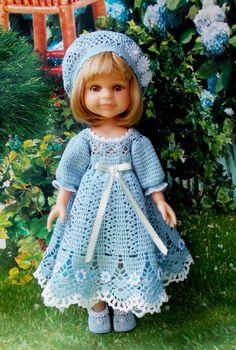 Ажурный комплект для Паолочки / Одежда для кукол / Шопик. Продать купить куклу / Бэйбики. Куклы фото. Одежда для кукол