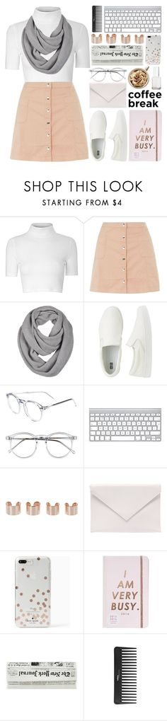 """""""we're all alike 🎌"""" by thisis2003 ❤ liked on Polyvore featuring Glamorous, Innocence, Uniqlo, Wildfox, Maison Margiela, Verali, Kate Spade, ban.do, Sephora Collection and Essie"""