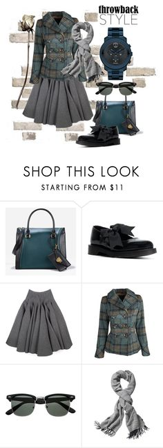"""""""Untitled #2089"""" by gordana-danilov ❤ liked on Polyvore featuring CHARLES & KEITH, Dr. Martens, Rochas, Dollhouse, Echo Design Group and Movado"""