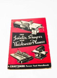 Vintage Craftsman Tools Operators Manual by LittleRiverVintage