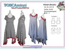 2E16 Ebook Damenkleid Chichi Gr. 34-54