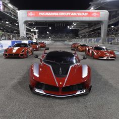 The 2015 Ferrari FXX K is a race car and the most extreme version of LaFerrari. Two engines, V12, 6.3 L 1035 hp, lighter and faster than its street-legal version. Grace and fury, beauty and beast, Ferrari sets rules, others follow. Pic from www.roadandtrack.com