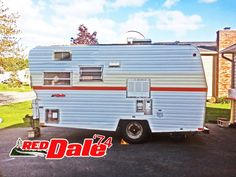 The Wood Family 1974 Red Dale Camper