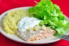 Všetky recepty   fitrecepty.sk Tzatziki, Tofu, Quinoa, Risotto, Mashed Potatoes, Grains, Meat, Chicken, Ethnic Recipes
