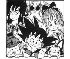 Goku Y Chichi, History Of Manga, Goku Manga, Kid Goku, Ball Drawing, Pokemon, Naruto Wallpaper, Dragon Ball Gt, Animes Wallpapers