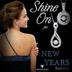 Shine on in 2016 with new diamond jewelry by Rhythm of Love at Adjewelation Jewelry!