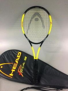 HEAD TOUR SERIES  Radical PERFORMANCE Oversize TENNIS  Racket 4 3/8-3 Cover INC #HEAD