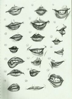 Delineate Your Lips - Ctrl Paint- Draw Lips by on deviantART - How to draw lips correctly? The first thing to keep in mind is the shape of your lips: if they are thin or thick and if you have the M (or heart) pronounced or barely suggested. Drawing Techniques, Drawing Tips, Drawing Sketches, Painting & Drawing, Drawing Ideas, Lips Painting, Mouth Painting, Drawing Lessons, Tattoo Sketches