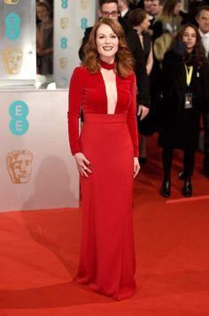 La alfombra roja de los Premios BAFTA 2015 JULIANNE MOORE