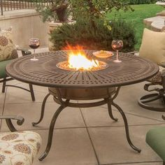 Tropitone® fire tables: best-in-class performance.