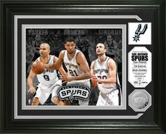 "AAA Sports Memorabilia LLC - San Antonio Spurs ""Big 3"" Minted Coin Photo Mint, #sanantoniospurs #spurs #nbafinals #nba #nbacollectibles #sportsmemorabilia #sportscollectibles $49.99 (http://www.aaasportsmemorabilia.com/nba/san-antonio-spurs-big-3-minted-coin-photo-mint/)"