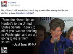 I really liked that Fox News placed quotes over a picture when talking about results. /mk